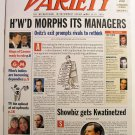 """Variety: May 13 - 19, 2002 """"Hollywood Morphs its Managers"""""""