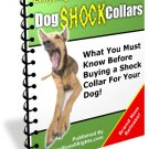 SHOCK COLLAR FOR YOUR BELOVED PET DOG