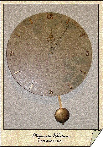 Christmas Pendulum Clock