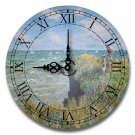 "12"" Decorative Wall Clock (Monet)"