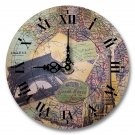 "12"" Decorative Wall Clock (Paris and the Grand)"