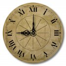 "12"" Decorative Wall Clock (Quilted Toile)"