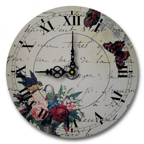 "12"" Decorative Wall Clock (Romantic Message Clock)"