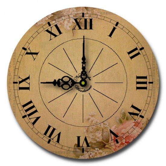 "12"" Decorative Wall Clock (English Garden Clock)"