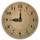 "12"" Decorative Wall Clock (Crackle)"