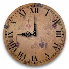 "12"" Decorative Wall Clock (Grapes)"