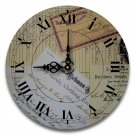"12"" Decorative Wall Clock (Papers)"
