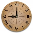 "12"" Decorative Wall Clock (World Traveler)"