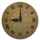 "12"" Decorative Wall Clock (All in a Row)"