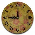 "12"" Decorative Wall Clock (Climbing Rose)"