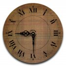 "12"" Decorative Wall Clock (Flannel)"