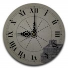 "12"" Decorative Wall Clock (Packed)"
