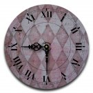 "12"" Decorative Wall Clock (Red Diamond)"