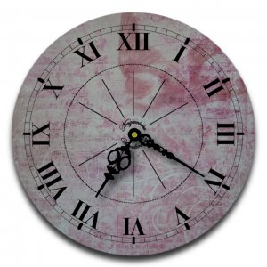 "12"" Decorative Wall Clock (Red Flight)"