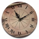 "12"" Decorative Wall Clock (Scroll)"