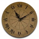 "12"" Decorative Wall Clock (Subtle Suede)"