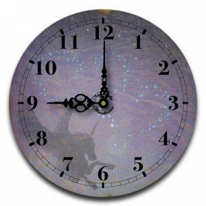 "12"" Decorative Wall Clock (Unicorn)"