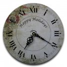 "12"" Decorative Wall Clock (Ornaments)"