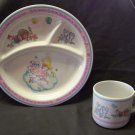 Child's Prayer - Divided Plate and Cup Set