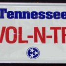 2   Cereal Premium TENNESSEE 1990 Toy Mini License Plates NIP