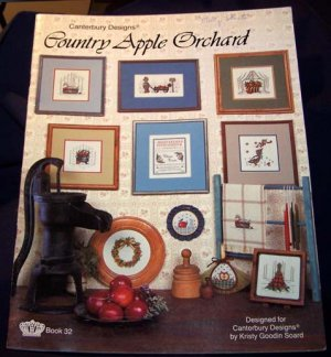 Country Apple Orchard Cross Stitch Booklet