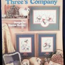 Three's Company Cross Stitch Leaflet