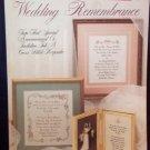Cross Stitch Leaflet - Wedding Remembrance