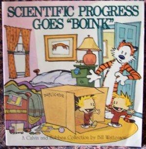 Scientific Progress Goes �Boink� Calvin and Hobbes