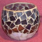 HOME INTERIOR MOSAIC BREEZE CANDLE HOLDER