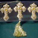 50% OFF! Bejeweled Cross Ornaments ~ Home Interiors Christmas