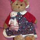 Betsy & Ross ~ American Teddy Bear ~ Bearington Collection w/Tags ~ NIB ~ 2 Available