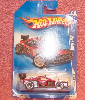 Hot Wheels ~ Roll Cage - REBEL RIDES �09 ~  NIP