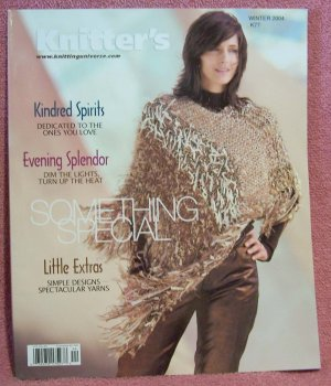KNITTERS MAGAZINE WINTER 2004 ~ SOMETHING SPECIAL K77