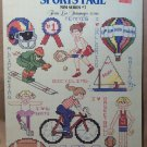 Sports Page - Cross Stitch – Mini Series #7 – Leisure Arts Leaflet 464