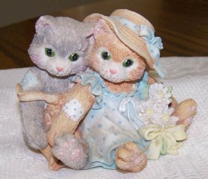 1993 ENESCO CALICO KITTENS-FRIENDSHIP A WARM, CLOSE FEELING