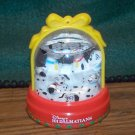 1996 Walt Disney Christmas SNOWGLOBE 101 Dalmatians
