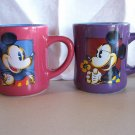 Disney Mickey and Minnie Mouse Silhouettes Cups or Mugs