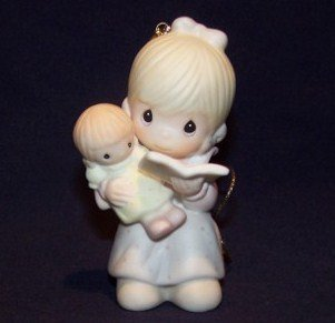 1983 Precious Moments Ornament - TELL ME THE STORY OF JESUS