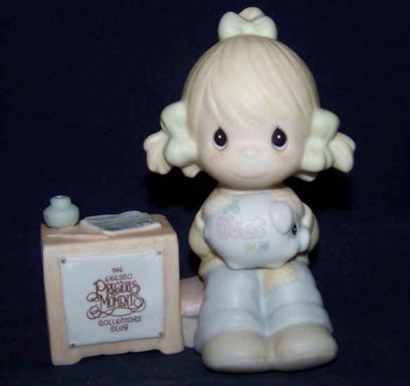 1983 Precious Moments - Collector Club - JOIN IN ON THE BLESSINGS E-0404