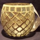 Home Interiors Mosaic Shimmer Candleholder - Retired - NEW