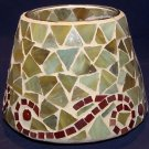 Home Interiors - Mosaic - Autumn Wind Candle Shade - NEW