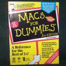 Vintage Macs for Dummies 2nd Edition Paperback by David Pogue (1993)