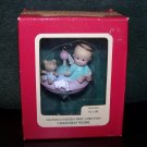 "Granddaughter's First Christmas Heirloom Ornament Carlton Cards ""Christmas Whirl"" – 1990 - NIB"