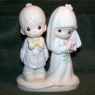 Precious Moments 1979 THE LORD BLESS YOU AND KEEP YOU - E-3114 ENESCO JONATHAN & DAVID