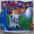 2004 Lego #1 Sports Soccer / Football Legos Toy McDonald's Happy Meal Premium NIP