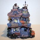 "Boyds Bearly Built Village - THE BOO BEARY MANSION"" PUNKY BOOBEAR'S HAUNTED HALLOWEEN HOUSE #19012"