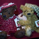 2 Teddy's Teddy 100th Anniversary Limited Edition Bears With TAGS