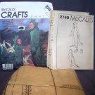McCall's Child's Halloween Costume Dinosaur Pattern 2749 – Medium 6-8
