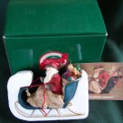 Vintage HALLMARK HEIRLOOM SANTA COLLECTION - SANTAS ON HIS WAY FIGURINE