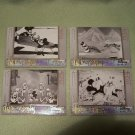 DISNEY TREASURES 4 MICKEY MOUSE FILMOGRAPHY UPPER DECK CARDS 1928, '29, '32 & '34